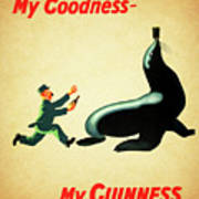 My Goodness My Guinness 1 Art Print