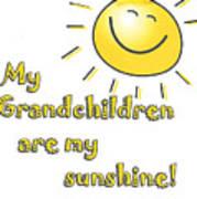 My Grand Children Art Print