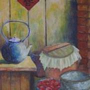 My Grandma's Kitchen Art Print