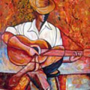 My Guitar Print by Jose Manuel Abraham