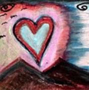 My Heart As The Sun Art Print
