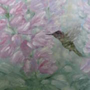 My Hummingbird Art Print