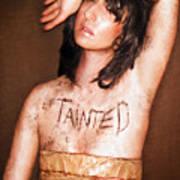 My Invisible Tattoos - Self Portrait Art Print by Jaeda DeWalt