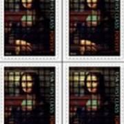 My Mona Lisa Weave  4 Art Print