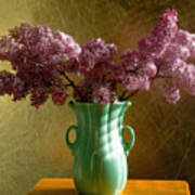 My Mother's Lilacs Art Print