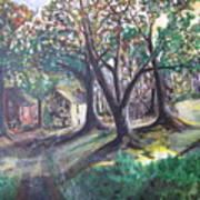 My Old Southern Plantation Home Art Print