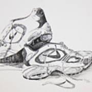My Running Shoes Art Print