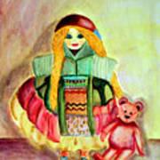 My Russian Doll Art Print by Pilar  Martinez-Byrne