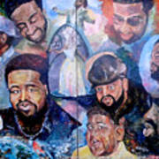 My Song Tribute To The Late Gerald Levert Art Print