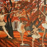 My Spirit Rises In Fall Art Print