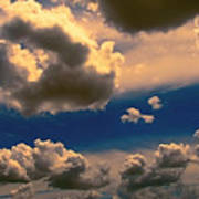 My Sunset Sky Art Print by Wendy J St Christopher
