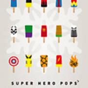 My Superhero Ice Pop - Univers Art Print by Chungkong Art