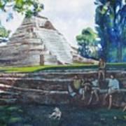 Myan Temple Art Print