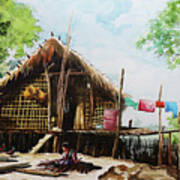 Myanmar Custom_016 Art Print