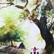 Myanmar Custom_03 Art Print