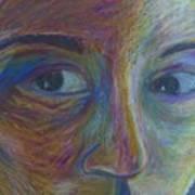 Mylar Portrait Art Print