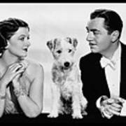 Myrna Loy Asta William Powell Publicity Photo The Thin Man 1936 Art Print