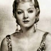 Myrna Loy, Vintage Actress Art Print