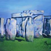 Mysterious Monoliths Art Print