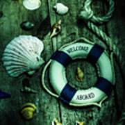 Mystery Aboard The Sunken Cruise Line Art Print
