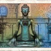 Mystic Ancient Prayers  Art Print