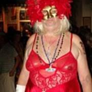 Mystic Masquerade For Linda Daughter Of Munger Art Print
