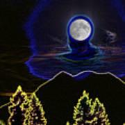Mystic Moon Art Print