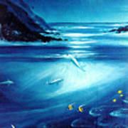 Mystic Moonlight  Art Print