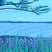 Mystic Strength Of The Niagara River Art Print