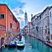 Mystic Venice Art Print