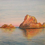 Mystical Island Es Vedra Art Print