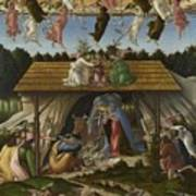 Mystical Nativity Art Print