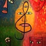 Mystical Notes Art Print