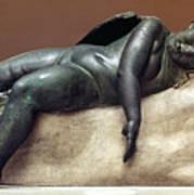 Mythology: Sleeping Eros Art Print