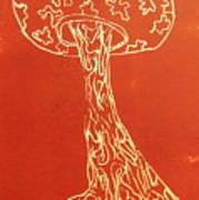 Myxomycetes 4 Art Print