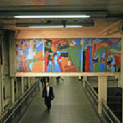 N Y C Subway Scenes # 45 Art Print