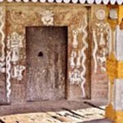 Nag Temple Doorway - Huri India Art Print