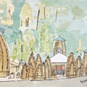 Nagesh Jyotirling Art Print