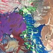 Nail Polish Abstract 15-t11 Art Print