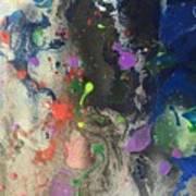 Nail Polish Abstract 15-w11 Art Print