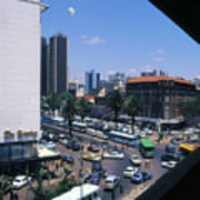 Nairobi City Art Print