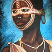 Nairobi Girl Art Print