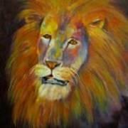 Naja, Lion  Art Print