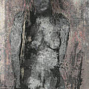 Naked Woman But Not Sexy Woman N.2 Art Print