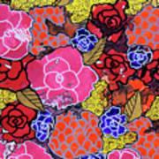 Nala's Flowers Art Print
