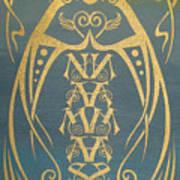 Namaste Reflectograph Art Print