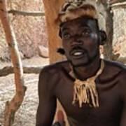 Namibia Tribe 2 - Chief Art Print