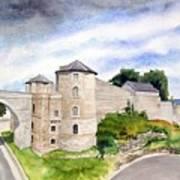 Namur, Citadelle Et Pont Des Hollandais Art Print