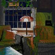 Nana's House Art Print