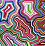Nanas Quilt Art Print